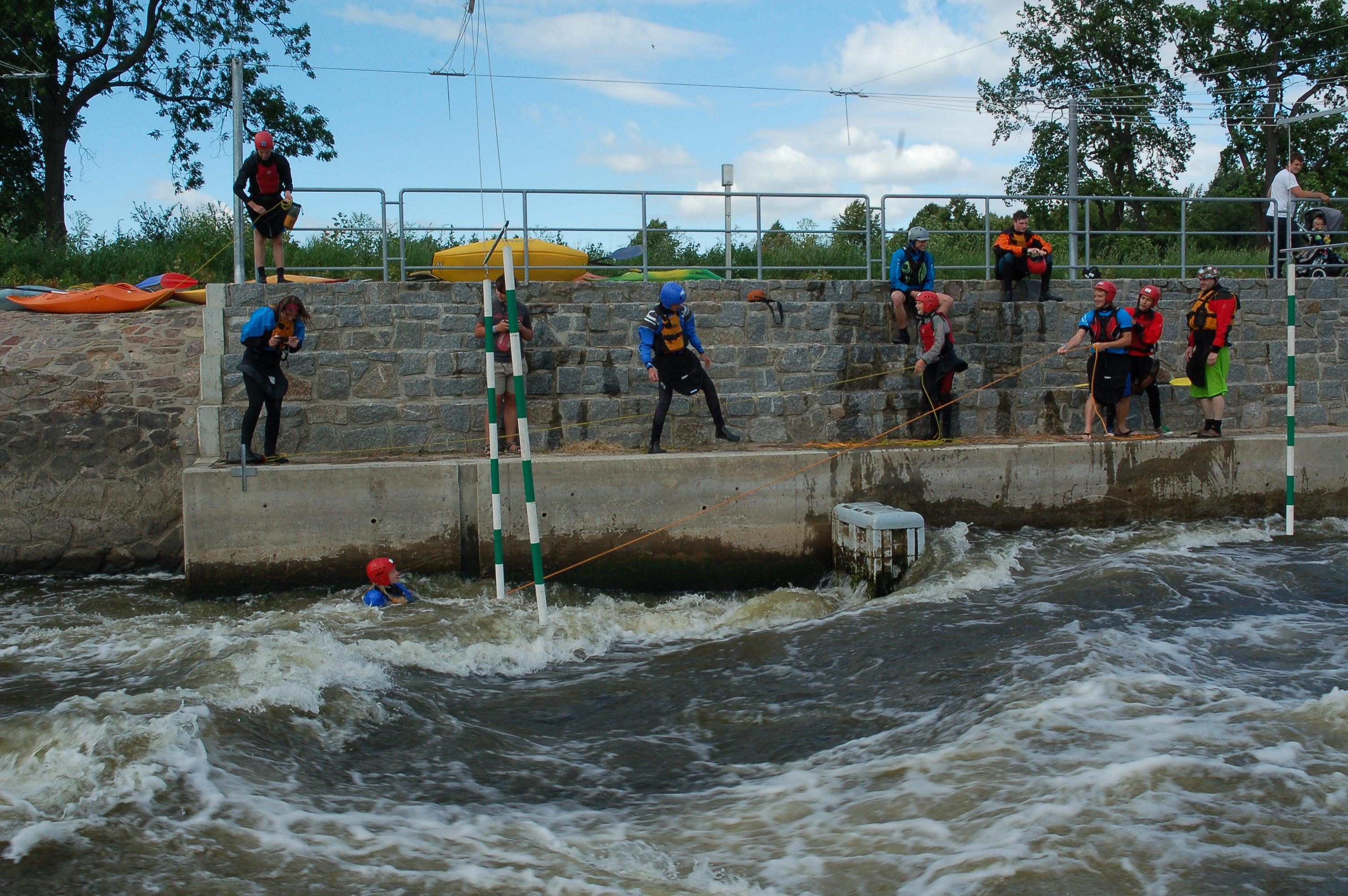 Vodácká škola záchrany